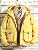 熱賣防風外套男士冬季外套防風棉襖工裝面包服韓版潮流棉服男裝棉衣男7月特惠