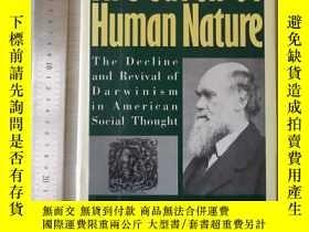 二手書博民逛書店In罕見search of human nature the d