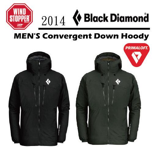 Black Diamond 美國 | Convergent Down Hoody 男款 連帽 保暖 透氣 纖羽 外套 | 秀山莊(Z6E9)