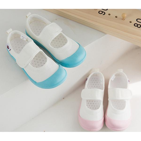 【2色】兒童室內鞋 男女童休閒鞋 幼稚園室內鞋 套入式懶人鞋 軟底防滑 L7480◆OSOME奧森鞋業