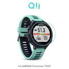 兩片裝 Qii GARMIN Forerunner 735XT 玻璃貼 鋼化玻璃貼 自動吸附 2.5D弧邊 手錶保護貼