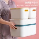 零食收納箱塑料家用衣服整理箱