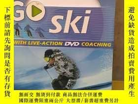 二手書博民逛書店GO罕見SKi 滑雪 英文版Y15878 DK 出版2006