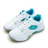 LIKA夢 LOTTO 全地形網球鞋 T-TOUR 600 白藍綠 6815 女