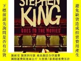 二手書博民逛書店Stephen罕見King Goes to the Movies 走進電影的史蒂芬·金(含《肖申克的救贖》等5篇小
