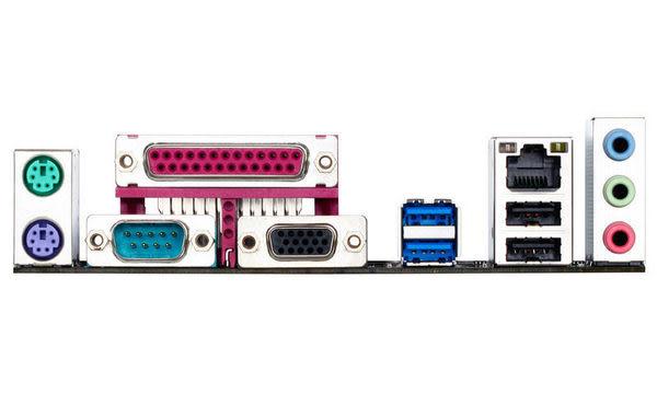 技嘉 Gigabyte GA-H81M-DS2 主機板 內建LPT/COM/D-SUB 接頭於後窗背板【刷卡含稅價】