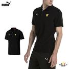 Puma BMW 男款 黑 短袖 上衣 法拉利 運動POLO衫 短袖 短T 高爾夫 排汗 透氣 短袖 76238702