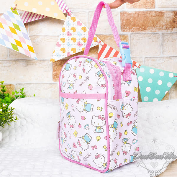 SKATER KITTY幼兒食物奶粉保鮮手提袋便當袋保冷多圖粉359293通販屋