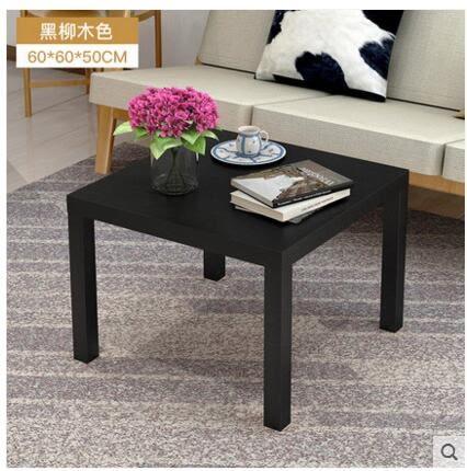 簡約茶几角幾客廳簡易木桌小戶型沙發邊幾邊桌迷你小方桌2