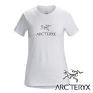 【Arc'teryx 始祖鳥】女 ARC'WORD圓領短袖休閒T恤『白』L07179000 戶外.露營.旅遊.休閒.春夏