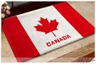 ☆Dolly生活館*╮居家簡約自然風個性可愛 加拿大國旗 腳踏墊/門墊/防滑墊/地毯 20588