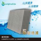 免耗材可水洗清淨機濾網(適用3M:(CHIMSPD-01UCRC/-1&01UCRC-2&02UCLC-1)強效除臭 濾除PM2.5