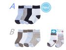 [Mamae] (4雙/組)美國 Luvable Friends嬰幼兒必備套裝組 棉質寶寶襪子 襪子 男女童襪子
