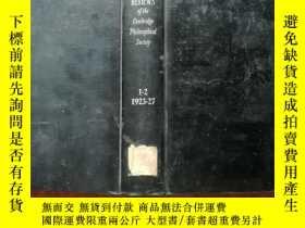 二手書博民逛書店【2621罕見BI0LOGICAL REVIEWS生物學評論 1