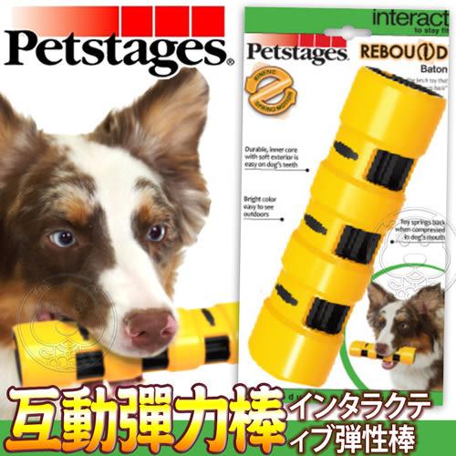 【培菓平價寵物網 】美國petstages》1154犬用玩具互動彈力棒-M號