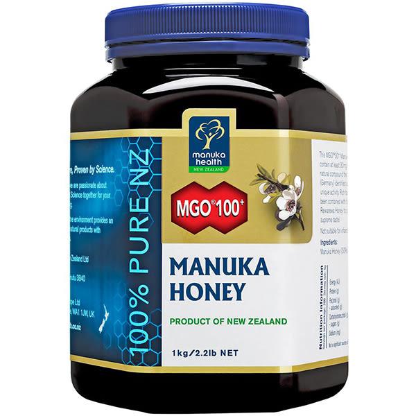 【蜜紐康manuka health】麥蘆卡蜂蜜 MGO100+ 1000g
