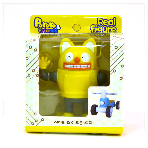 Pororo快樂小企鵝 Pororo羅迪塑膠公仔_RR11008