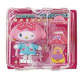 Sanrio 換裝娃娃組 擺飾玩偶 公仔 美樂蒂 遮陽帽 粉_261203