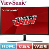 ViewSonic優派 27型 曲面電競螢幕 VX2758-C-MH