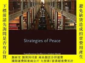 二手書博民逛書店Strategies罕見Of Peace (studies In