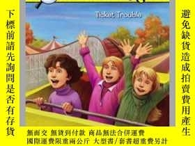 二手書博民逛書店Ticket罕見TroubleY362136 Carolyn Keene Car... Aladdin (Se