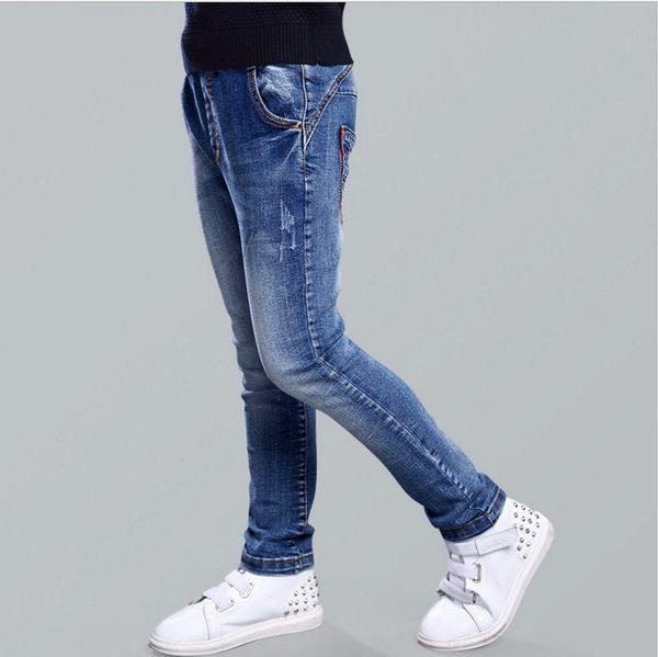 衣童趣♥男童 中大童 帥氣牛仔長褲 時尚休閒百搭款長褲
