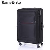 5折特價 Samsonite 新秀麗【POPULITE AA4】28吋行李箱 可擴充 超輕量僅3kg 布面 黑色