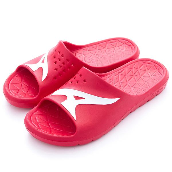 AIR WALK 男鞋 女鞋 拖鞋 橡膠 防水 防滑 耐磨 紅 【運動世界】 A755220340