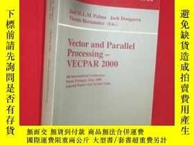 二手書博民逛書店Vector罕見and Parallel Processing