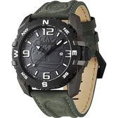 Timberland Brookline 美式立體品牌潮流腕錶-綠 TBL.13856JPGYB/13A