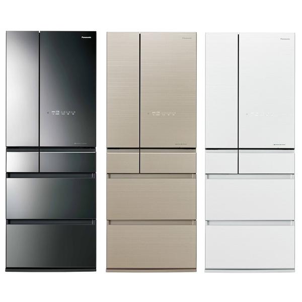 國際 Panasonic 600公升無邊框玻璃六門變頻冰箱 NR-F606HX