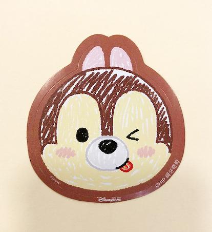 【震撼精品百貨】Chip N Dale_奇奇蒂蒂松鼠~Q版貼紙-3入-松鼠
