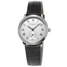 康斯登 CONSTANT SLIMLINE超薄系列小秒針女腕錶    FC-235M1S6