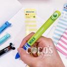 正版 韓國大創 迪士尼 怪獸大學 大眼仔 雙色筆 圓珠筆 原子筆 黑筆紅筆 0.5mm COCOS PP170