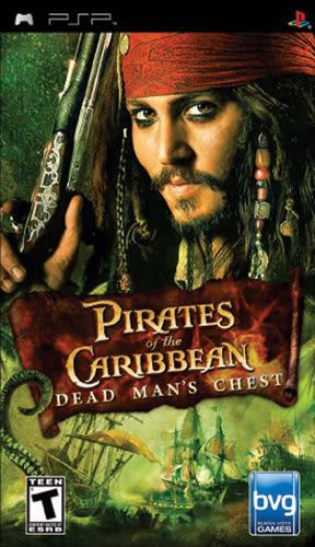 PSP Pirates of the Caribbean Dead Man s Chest 神鬼奇航2:加勒比海盜(美版代購)