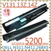 DELL 電池-Inspiron 13Z,14Z N311z,N411z,H2XW1,JD41Y Vostro V131D,V131,N2DN5