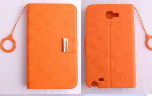 KALAIDENG 卡來登 Samsung GALAXY Note N7000 專用 皮套/保護殼/保護蓋/保護套/外殼 唯系列 橘色