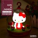 凱蒂貓 蛋黃哥 觸控小夜燈【E1-021...
