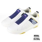 Royal Elastics Manhood 白色 皮質 套入 休閒運動鞋 男款 NO.B1506【新竹皇家 06501-053】