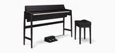 【金聲樂器】Roland KF-10 Karimoku 黑色實木 日本製 電鋼琴 分期零利率  KF10