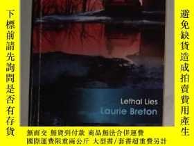 二手書博民逛書店英文原版罕見Lethal Lies by Laurie Bret