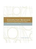 二手書博民逛書店 《Computer Science:: A Structured Approach Using C》 R2Y ISBN:0534491324│Forouzan