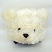 摩摩帽 獨家 布偶套 安全帽套 動物 帽套 動物帽套 白熊