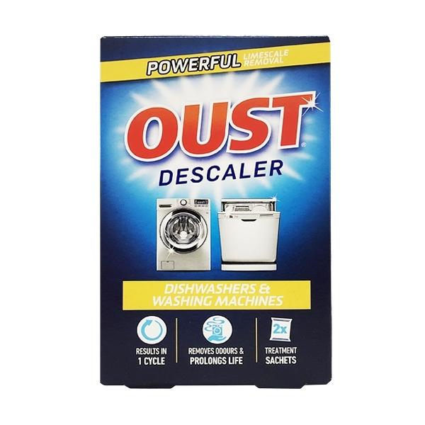 英國進口 OUST 洗碗機&滾筒式洗衣機專用清潔劑 每盒2包入