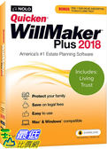 [7美國直購] 2018 amazon 亞馬遜暢銷軟體 Nolo Quicken WillMaker Plus 2018 & Living Trust