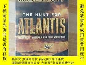 二手書博民逛書店The罕見Hunt for Atlantis(英文原版)Y216