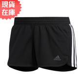 【現貨】ADIDAS PACER 3-S KNIT 女裝 短褲 慢跑 訓練 無口袋 吸濕 排汗 黑【運動世界】DU3502