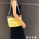2020新款韓版媽咪包手提斜跨大容量小號單肩母嬰包外出媽媽包辣媽 夢幻衣都