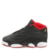 Nike Air Jordan 13 Retro Low BG [310811-027] 大童鞋 喬丹 經典 黑 紅