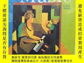 二手書博民逛書店The罕見Enjoyment of Music:An Intro